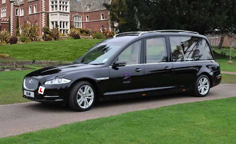 Jaguar hearse xj