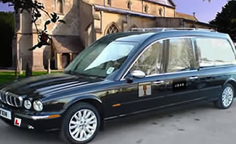 Jaguar Hearse xj8